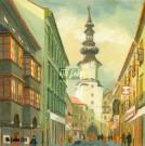 Michalská ulica, cca 1950