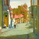 Mikulášska ulica za Domom u dobrého pastiera